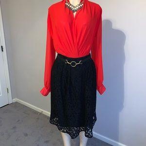 Eva Mendes lace skirt